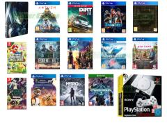 Dead or Alive 6, Anthem, Dirt Rally 2.0, Metro Exodus, Jump Force, Dark Souls Trilogy, Resident Evil 2, Kingdom Hearts III, Ace Combat 7, Far Cry New Dawn,  Monster Energy Supercross 2, Crackdown 3, New Super MArio Bros. U Deluxe, Travis Strikes Again No More Heroes