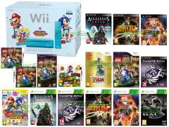 Assassin's Creed Revelations, Need for Speed The Run, Saints Row The Third, Ultimate Marvel vs. Capcom 3, Halo Combat Evolved Anniversary, The Legend of Zelda Skyward Sword, Mario & Sonic Ai Giochi Olimpici di Londra 2012, Lego Harry Potter Anni 5-7, Super Mario Land 3D