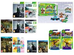 Skylanders Swap Force Starter Pack,  Batman Arkham Origins, WRC 4 Fia World Rally Championship, Dragon's Crown, Just Dance Kids 2014, Deus Ex Human Revolution Director's Cut