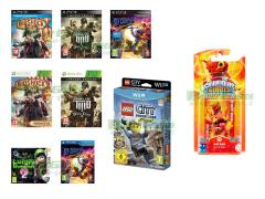 Bioshock Infinite, Army of Two The Devil's Cartel, LEGO City Undercover, Luigi's Mansion 2, Sly Cooper Ladri nel Tempo