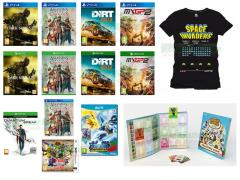 Quantum Break, Dark Souls III, Dirt Rally, MXGP 2, Assassin's Creed Chronicles, Pokkén Tournament, Hyrule Warriors Legends