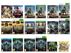 Destiny, Infamous First Light, Diablo III Ultimate Evil Edition, Metro Redux, Yu-Gi-Oh! World Duel Carnival, Teenage Mutant Ninja Turtles 2014, Ultra Street Fighter IV, Risen 3, Tales of Xillia 2, Naruto Shippuden Ultimate Ninja Storm Revolution