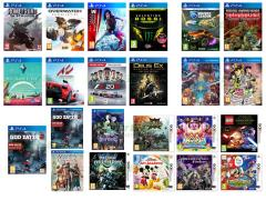 No Man's Sky, Deus Ex Mankind Divided, Assetto Corsa, F1 2016 Formula One, God Eater 2 Rage Burst, Homefront The Revolution, Overwatch Origins Edition, Mirror's Edge Catalyst, Valentino Rossi The Game, Rocket League Collector's Edition, LEGO Star Wars Il Risveglio della Forza, Jojo's Bizarre Adventure Eyes Of Heaven, Star Ocean Integrity and Faithlessness, Odin Sphere Leifthrasir, Metroid Prime Federation Force, Kirby Planet Robobot, Mario & Sonic Ai Giochi Olimpici di Rio, Fire Emblem Retaggio, Fire Emblem Conquista, Monster Hunter Generations