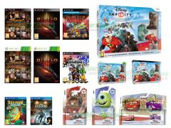 Disney Infinity Starter Pack, Diablo III, Dead or Alive 5 Ultimate, Kingdom Hearts HD 1.5 Remix, Puppeteer Kutaro e le Forbici Magiche, Killzone Mercenary, Rayman Legends