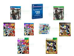 Dragon Ball Z Battle of Z, Tomb Raider Definitive Edition, Mario Party Island Tour
