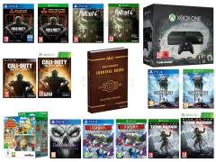 Call of Duty Black Ops III, Fallout 4, Star Wars Battlefront, Animal Crossing Amiibo Festival, Rise of the Tomb Raider, Transformers Devastation