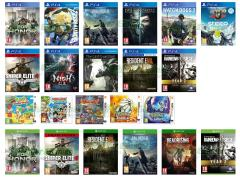 For Honor, Sniper Elite 4, Nioh, Tom Clancy's Rainbow Six Siege Year 2 Gold Edition, Resident Evil 7 Bio Hazard, Gravity Rush 2, The Last Guardian, Final Fantasy XV, Dishonored 2, Watch Dogs 2, Steep, Dead Rising 4, Dragon Ball Fusions, Poochy & Yoshi's Woolly World, Dragon Quest VIII L'odissea del Re maledetto, Pokémon Sole, Pokémon Luna
