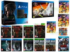 Metal Gear Solid V, One Piece Pirate Warriors 3, Mad Max, Disney Infinity 3 Star Wars Starter Pack, Dishonored Definitive Edition, Little Battlers Experience, Devil's Third