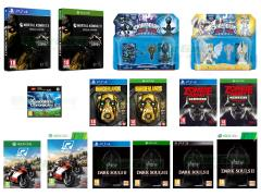 Mortal Kombat X, Dark Souls 2 Scholar of the First Sin, Zombie Army Trilogy, Borderlands The Handsome Collection, Ride, Xenoblade Chronicles