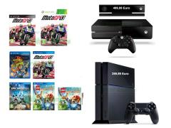 Moto GP 13, Lego Legends of Chima Il Viaggio di Laval, Disney Epic Mickey 2, Jak & Daxter Trilogy