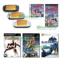 PSP Slim Worms 2 Valkyrie Profile Obscure 2