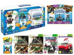 Forza Motorsport 4, Ace Combat Assault Horizon, Dead Rising 2 Off the record, Skylanders Spyro's Adventure Starter Pack