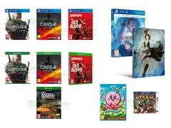 The Witcher III Wild Hunt, State of Decay Year-One Survival Edition, Project Cars, Kirby e il Pennello Arcobaleno, Final Fantasy X-X2 HD Remaster, Code Name S.T.E.A.M.