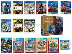 Uncharted 4, Doom, Ratchet & Clank, Yo-Kai Watch, Star Fox Zero, BloodBorne GOTY, UEFA Euro 2016